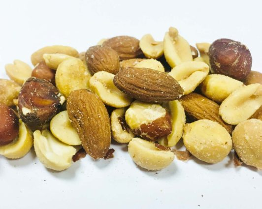 Mixed Nuts with Peanuts Salted